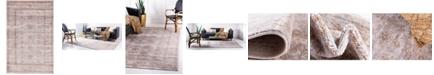 Bridgeport Home Anika Ani2 Light Brown 5' x 8' Area Rug