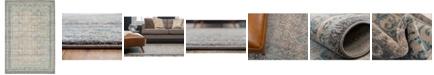 Bridgeport Home Bellmere Bel4 Gray 6' x 9' Area Rug