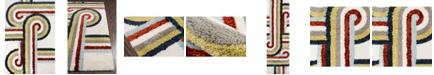 "Novogratz Collection Novogratz Retro Ret-5 Multi 3'6"" x 5'6"" Area Rug"