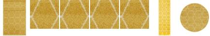 Bridgeport Home Plexity Plx1 Yellow Area Rug Collection