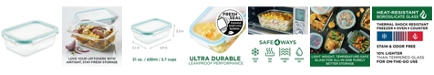 Lock n Lock Purely Better™ Glass 21-Oz. Rectangular Food Storage Container