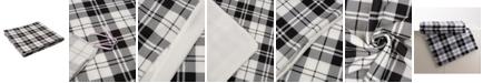 Glitzhome Polar Fleece Plaid Reversible Duvet Cover, Twin