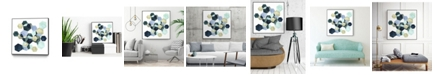 """Giant Art 30"""" x 30"""" Crystallize I Art Block Framed Canvas"""