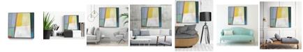 "Giant Art 30"" x 30"" Solidity I Art Block Framed Canvas"