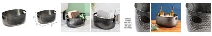 Honey Can Do Large Black Aluminum Beverage Tub