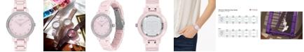 COACH Audrey Blush Ceramic Bracelet Watch 35mm