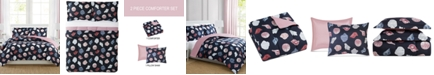 Pem America Seashells 2-Pc. Reversible Twin Comforter Set, Created for Macy's