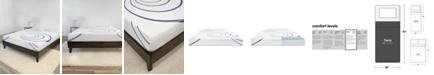 SensorGel 8-Inch Gel-infused Memory Foam Mattress-In-A-Box- Twin