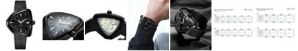 Hamilton Unisex Swiss Automatic Ventura Elvis80 Black Rubber Strap Watch 43x45mm H24585331