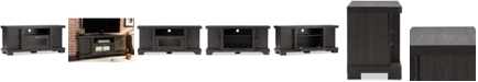 Furniture Viveka 47-Inch TV Cabinet with 2 Doors