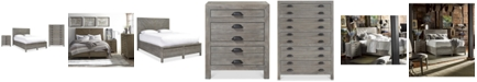 Furniture Broadstone Storage Bedroom Furniture, 3-Pc. Set (Queen Bed, Chest & Nightstand)