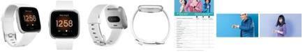 Fitbit Versa Lite White Strap Smart Watch 39mm