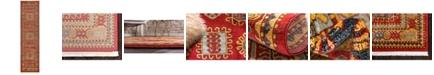 """Bridgeport Home Harik Har6 Red 2' 7"""" x 10' Runner Area Rug"""