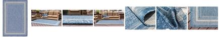 Bridgeport Home Pashio Pas5 Blue 6' x 9' Area Rug