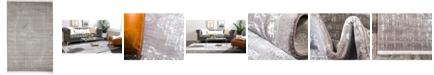 Bridgeport Home Norston Nor2 Gray 4' x 6' Area Rug