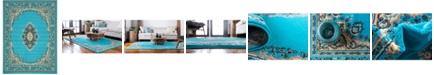 "Bridgeport Home Birsu Bir1 Turquoise 9' 10"" x 13' Area Rug"