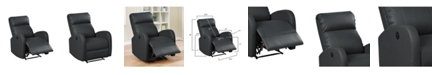 Ac Pacific Sean Modern Infused Small Power Reading Recliner