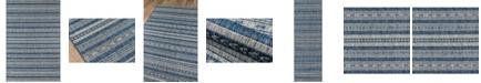 """Novogratz Collection Novogratz Villa Vi-04 Blue 3'11"""" x 5'7"""" Area Rug"""