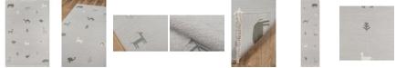 """Erin Gates Thompson Tho-2 Porter Gray 5' x 7'6"""" Area Rug"""