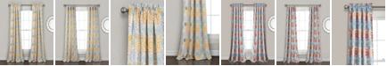 "Lush Decor Blooming Flower Room Darkening 84""x52"" Window Panel Set"
