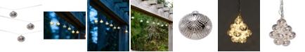 Allsop Home & Garden Solar String Lights Marrakesh Metal - Droplet