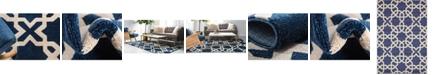 Bridgeport Home Arbor Arb5 Navy Blue Area Rug Collection