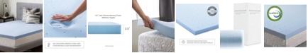 """Brookside 2.5"""" Gel Infused Memory Foam Mattress Topper, Full"""