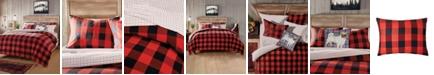 G.H. Bass & Co. G.H. Bass 3-Piece Buffalo Check Flannel King Comforter Set