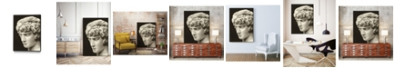 "Giant Art 36"" x 24"" Roman Relic I Art Block Framed Canvas"