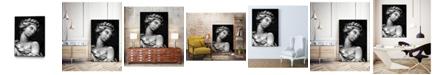 "Giant Art 20"" x 16"" Ornate Sculpture I Art Block Framed Canvas"