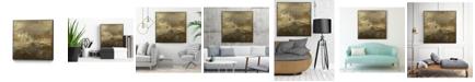 "Giant Art 30"" x 30"" Quiet Marsh II Art Block Framed Canvas"
