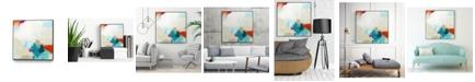"""Giant Art 20"""" x 20"""" Atmospheric IV Art Block Framed Canvas"""