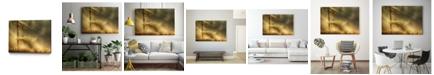 "Giant Art 32"" x 24"" Autumn Light Museum Mounted Canvas Print"
