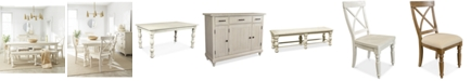 Furniture Aberdeen Expandable Dining Furniture Collection