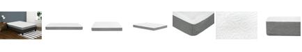 "Primo International Primo Leila 8"" Gel Memory Foam Cushion Firm Mattress - Twin"