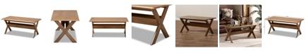 Furniture Furniture Sarai Modern Rectangular Coffee Table