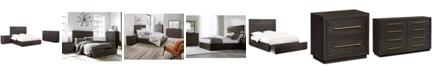Furniture Cambridge Storage Platform Bedroom Furniture, 3-Pc. Set (King Bed, Dresser & Nightstand), Created for Macy's