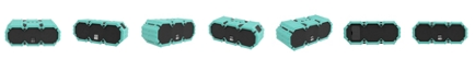 Altec Lansing  Mini Lifejacket S3 Waterproof Wireless Speaker - Mint Green