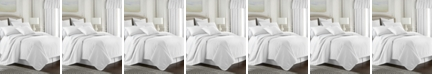 Colcha Linens Cambric White Comforter-Queen