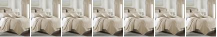 Colcha Linens Cambric Vanilla Comforter-Twin