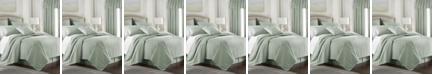 Colcha Linens Cambric Seafoam Comforter-Queen