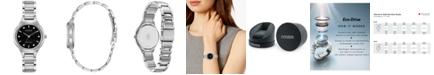 Citizen Eco-Drive Women's Corso Diamond-Accent Stainless Steel Bracelet Watch 29mm