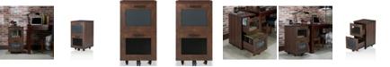 Furniture of America Brynn Industrial Filing Cabinet