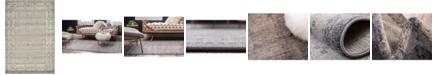 Bridgeport Home Bellmere Bel1 Gray 6' x 9' Area Rug