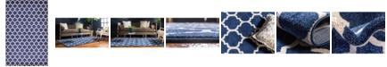 """Bridgeport Home Arbor Arb1 Dark Blue 10' 6"""" x 16' 5"""" Area Rug"""