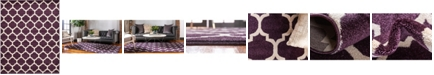 Bridgeport Home Arbor Arb1 Purple 8' x 10' Area Rug