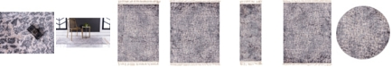 Bridgeport Home Levia Lev3 Gray Area Rug Collection
