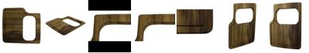 ALFI brand Rectangular 2 Piece Wood Cutting Board With Hole