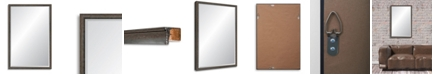 Reveal Frame & Decor Reveal Foundry Steel Beveled Wall Mirror