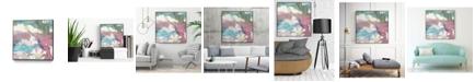 "Giant Art 30"" x 30"" Macro Zoom III Art Block Framed Canvas"